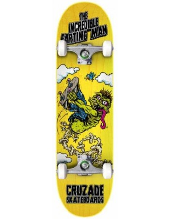 """Skateboard Cruzade The Incredible Farting Man 8,25"""" (Completo)"""