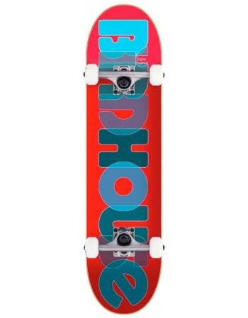 "Skateboard Birdhouse Stage 1 Opacity Logo Red 8"" (Completo)"