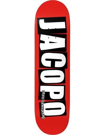 """Skateboard Baker Jacopo Brand Logo 8,25"""" (Solo Tabla)"""