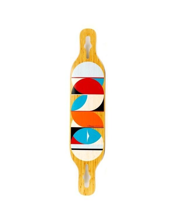 Longboard Loaded Longboard Dervish Sama Circles FLEX 1 (solo tabla)