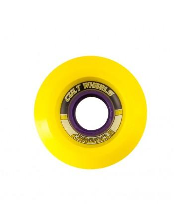 Ruedas Longboard Cult Chronicle 65mm Amarillo (Stoneground)