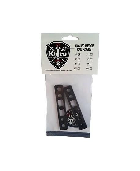 "Khiro Soft Flat shock pad 0.062"" (1.57mm) small (pack 2)"