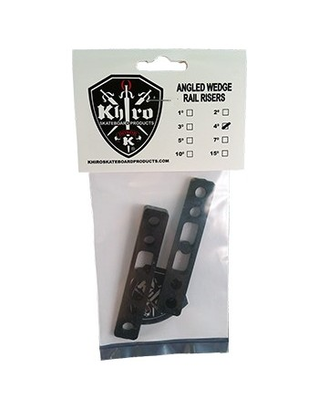 Khiro Angled Wedge Rail Riser 4º (set 2)
