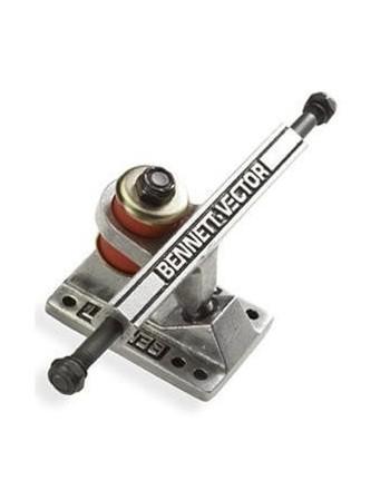 Eje Skateboard Bennet Truck 4.3 Silver  (Unit)
