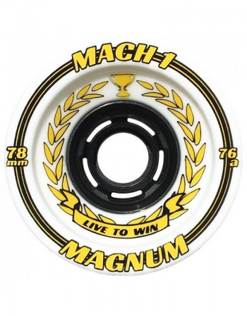 Ruedas Longboard Venom Mach 1 76mm 76a ( set 4)