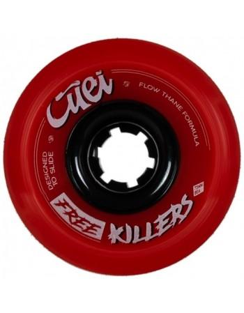 Ruedas Longboard Free Killers 73mm