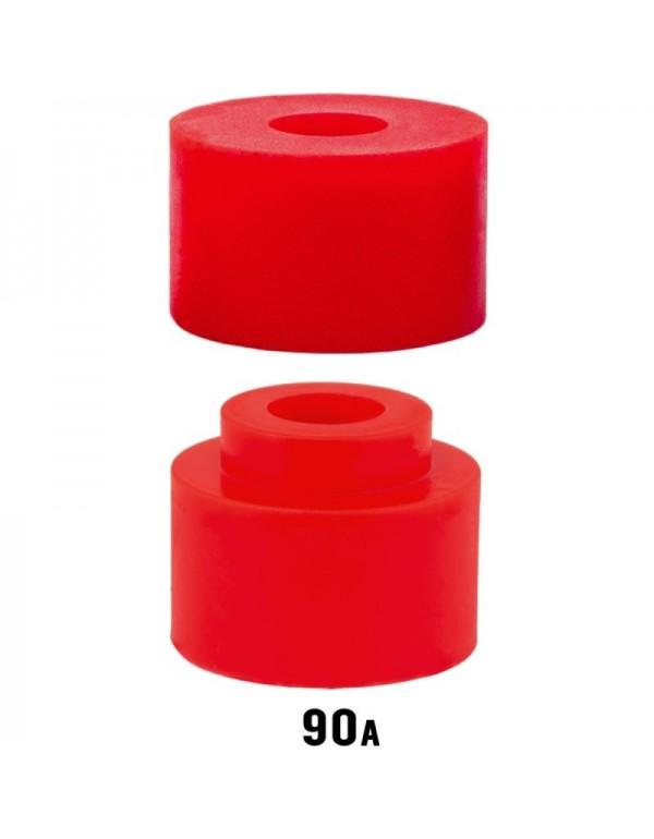 Venom Bushings Caliber Plugs + Insert 90a Rojo (set 2)