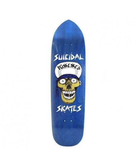 "Skateboard Suicidal Skates Punk Point Skull 8,75"" (Solo Tabla)"