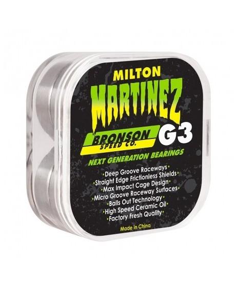 Rodamientos Bronson Speed Co. Milton Martinez Pro G3