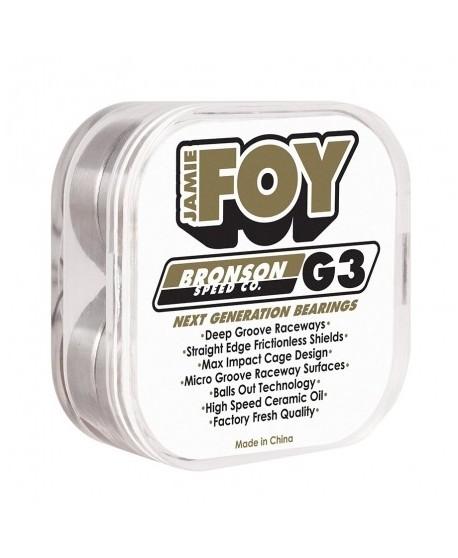 Rodamientos Bronson Speed Co. Jamie Foy Pro G3