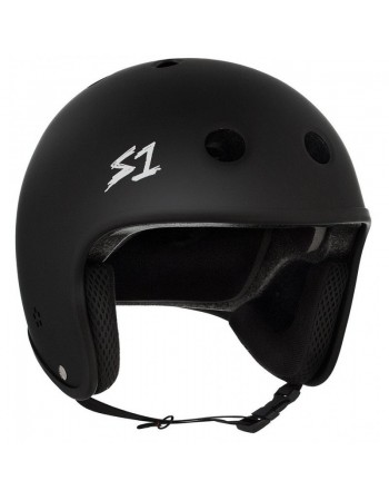 Casco S1 Retro Lifer Black Matte