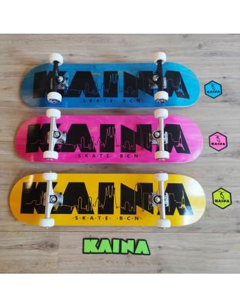 "Skateboard Kaina Skate Bcn 8"" (completo)"