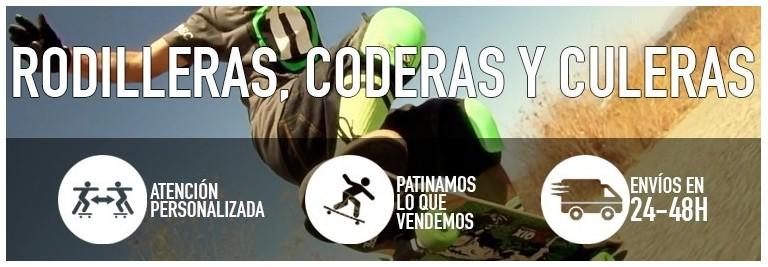 Rodilleras, coderas y culeras. | Kaina Skateshop