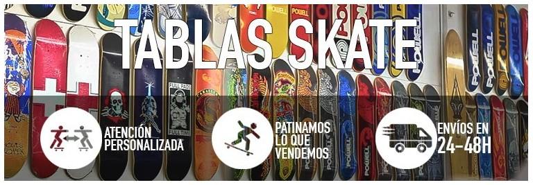 Tablas de skateboard. Compra en nuestra tienda online