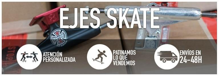 Ejes de skateboard. Compra en nuestra tienda online