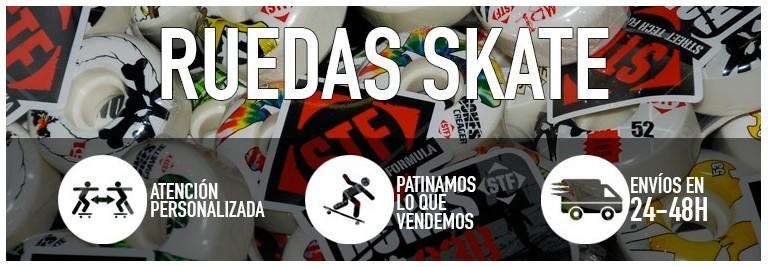 Ruedas de skateboard. Compra en nuestra tienda online