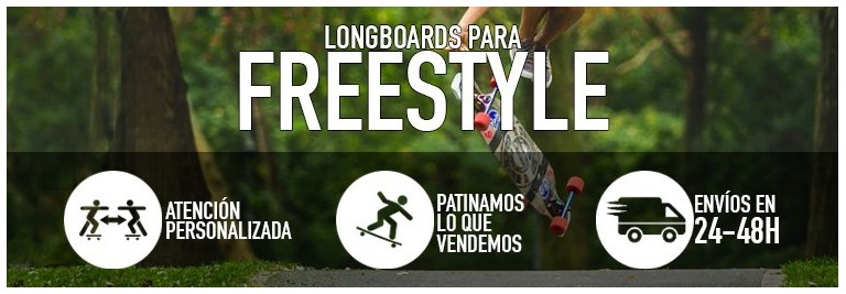 Longboards para freestyle