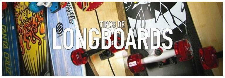 Tipos de longboard tablas