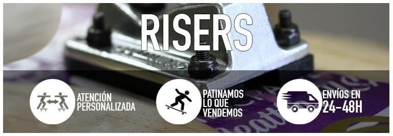 Risers-Alzas | Kaina Skateshop